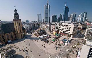 Франкфуртская фондовая биржа — голубые фишки Börse Frankfurt