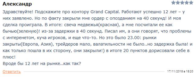 Гранд капитал (grand capital) - лохотрон? Отзывы о брокере