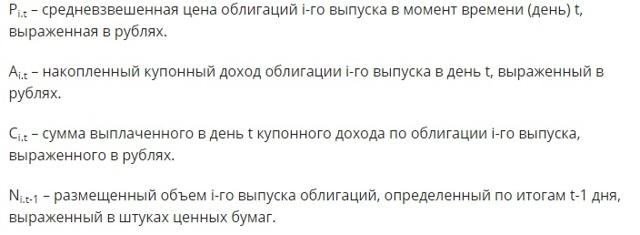 rgbi | Индекс государственных облигаций РФ