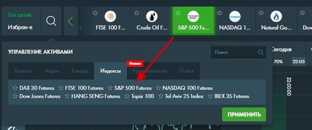 Фьючерс на индекс s&p 500 | Онлайн график и аналитика