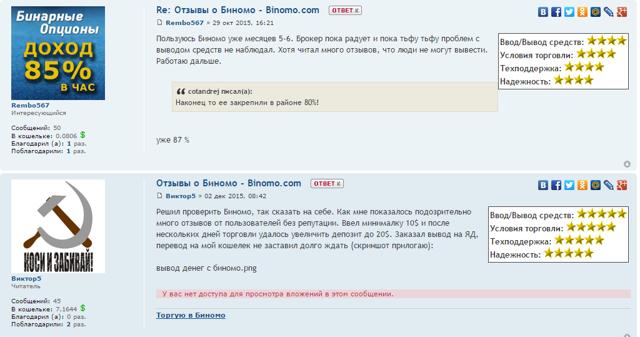 binomo - лохотрон или нет? Реальные отзывы трейдеров